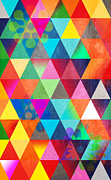 Geometric Shapes Posters - Contemporary 3 Poster by Mark Ashkenazi