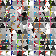 Geometric Shapes Posters - Contemporary Poster by Mark Ashkenazi