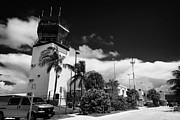 Control Tower Prints - Control Tower At Key West International Airport Florida Usa Print by Joe Fox