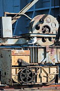 Machinery Digital Art Prints - Convenient Perch Print by Suzanne Gaff