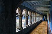 Supports Framed Prints - Convent Arches Framed Print by Linda Phelps