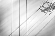 Power Lines Prints - Convergence Print by John Farnan