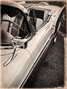 Classic Automobile Prints - Convertible Dreams Print by Edward Fielding