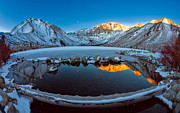 Convict Lake Art - Convict Lake by Don Hall