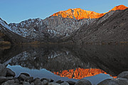 Convict Lake Art - Convict Lake Sunrise by Sachin Deshpande