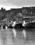 Adrian Hillyard - Conwy Castle and Harbour.