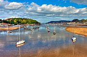 Wales Digital Art - Conwy Harbor - North Wales by George Standen
