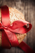 Ribbon Prints - Cookie gift Print by Jane Rix