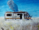 New Mexico Mixed Media - Cooking by Jeremy Moore
