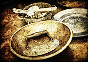 Wooden Bowl Prints - Cooking Old Style Print by Lincoln Rogers