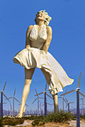 Marilyn Photos - COOL BREEZE Palm Springs by William Dey
