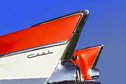 Red Chevrolet Prints - Cool Car Print by Diane Diederich