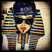 Rapper Paintings - Cool King Tut by Dominique James