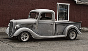 Ron Roberts Photography Photographs Posters - Cool little Ford Pick Up Poster by Ron Roberts
