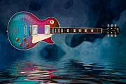 WB Johnston - Cool TieDye Les Paul