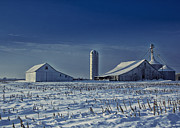 Michael Huddleston - Cool Winter Barn