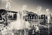Coolidge Prints - Coolidge Park Fountains Print by Steven Llorca