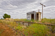 Disused Prints - Coonawarra Station South Australia Print by Colin and Linda McKie