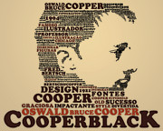 Artwork Prints - Cooper Black Print by Caio Caldas