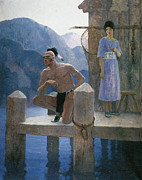 N.C. Wyeth Posters - Cooper: Deerslayer, 1925 Poster by Granger