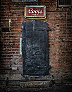 Back Pyrography Framed Prints - Coors Back Door  Framed Print by Gus Schoenamsgruber