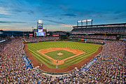 Ballfield Framed Prints - Coors Field Framed Print by Mark Whitt