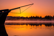 Coos Bay Sunrise II Print by Robert Bynum