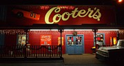 Historic Country Store Posters - Cooters At Christmas Poster by Dan Sproul
