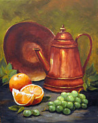 Carol Hart - Copper Coffee Pot