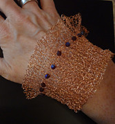 Susan Robertson - Copper Knit Cuff