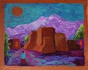 Carolene Of Taos - Copper Moon Over Ranchos