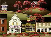 Country Store Painting Framed Prints - Copper Springs Framed Print by Catherine Holman