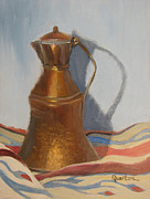 Lori Quarton Art - Copper Vessel by Lori Quarton