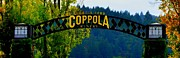 Sonoma County Digital Art Prints - Coppola Winery Two Print by Antonia Citrino