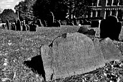 Grave Photos - Copps Hill Burying Ground by Benjamin Yeager
