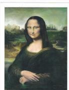 Pic Painting Posters - Copy of Mona Lisa Poster by Anne-Elizabeth Whiteway