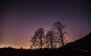 Peaceful Scene Prints - Coquitlam Light Pollution Print by James Wheeler