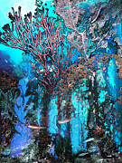 Snorkeling Digital Art - Coral Forest by Ursula Freer