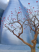 Robert Jensen Art - Coral Tree and Steel by Robert Jensen