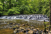 Tim Buisman Metal Prints - Corbetts Glen Waterfall 2 Metal Print by Tim Buisman