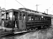 Corbin Park Street Car No. 175 - 1915 Print by Daniel Hagerman