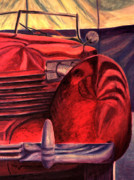 Automotive Pastels - Cord - Vignette by Rick Spooner