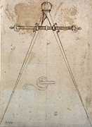 Compasses Prints - Cordini Antonio Known As Antonio Da Print by Everett