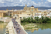 Visitor Prints - Cordoba in Spain Print by Artur Bogacki