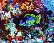 Ginette Fine Art LLC Ginette Callaway - Coral Reef Life in The Ocean