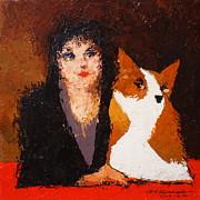 Max Yamada - Corgi and Woman v.1