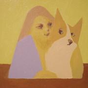 Max Yamada - Corgi and Woman v.3