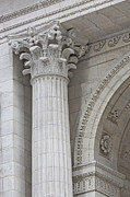 Stephen A. Schwarzman Building Framed Prints - Corinthian Column Detail Framed Print by Susan Candelario