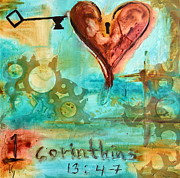 Corinthians 13 Print by Ivan Guaderrama