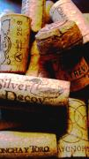 Wine Galleries Prints - Corks Print by Colleen Kammerer